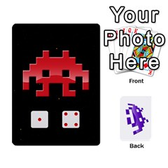 8bit By Daniel Cassar   Playing Cards 54 Designs   Zwe02aedvg7m   Www Artscow Com Front - Spade4