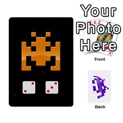 8bit By Daniel Cassar   Playing Cards 54 Designs   Zwe02aedvg7m   Www Artscow Com Front - Spade7