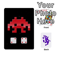 8bit By Daniel Cassar   Playing Cards 54 Designs   Zwe02aedvg7m   Www Artscow Com Front - Spade8