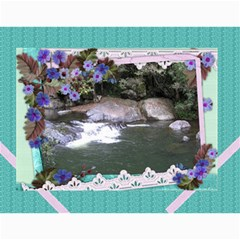 Framed With Flowers 2017 (any Year) Calendar By Deborah   Wall Calendar 11  X 8 5  (12 Months)   2zz7fgvp1nld   Www Artscow Com Month