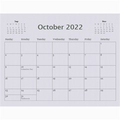 Framed With Flowers 2017 (any Year) Calendar By Deborah   Wall Calendar 11  X 8 5  (12 Months)   2zz7fgvp1nld   Www Artscow Com Oct 2017