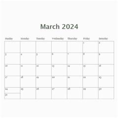 Elegant In Silver 2018 (any Year) Calendar By Deborah   Wall Calendar 11  X 8 5  (12 Months)   Fum18nvivevs   Www Artscow Com Mar 2018