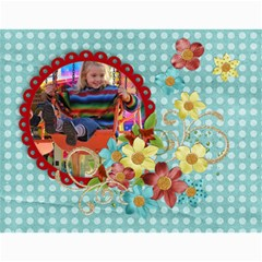 Floral 2015 Calendar Any Theme, 12 Month By Mikki   Wall Calendar 11  X 8 5  (12 Months)   Zmhpoeb1oucf   Www Artscow Com Month