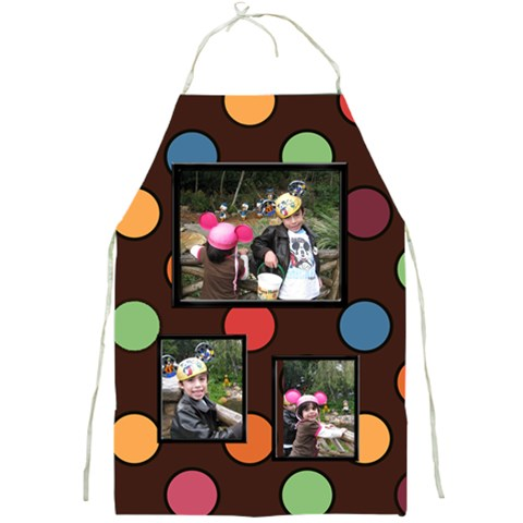 Colorful World Apron Large Print By Blue Angel   Full Print Apron   B5rex2xz8cew   Www Artscow Com Front