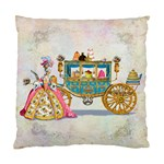 Marie Antoinette Carriage & Cakes Cushion Case (Two Sides)