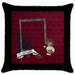 Pirate Life- pillow (1side) - Throw Pillow Case (Black)