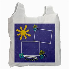 Recycle Bag (two Sides)   Summer Escapade By Jennyl   Recycle Bag (two Side)   Klll7r18dv33   Www Artscow Com Front