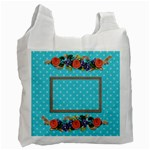 Recycle Bag (Two sides) - Flower Blooms2 - Recycle Bag (Two Side)