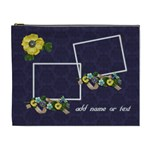 Cosmetic Bag (XL) - Burst of Flowers