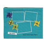 Cosmetic Bag (XL) - Pinwheels