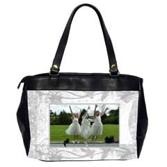 Precious Memories Oversized Office Bag By Catvinnat   Oversize Office Handbag (2 Sides)   Igc2wl8inuxq   Www Artscow Com Back