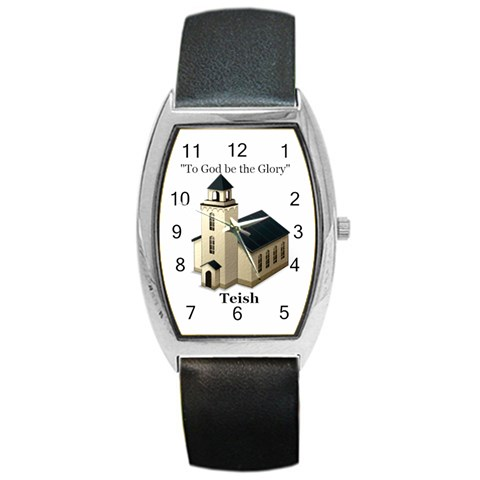 Watch For Phyllis For Teish By Jean Guy Demeter   Barrel Style Metal Watch   6eh8njv5sk7w   Www Artscow Com Front