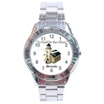 watch for Phyllis for Bernie - Stainless Steel Analogue Watch