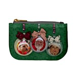 Christmas ornament/gift card holder- mini coin purse
