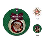 Christmas ornament-round playing cards - Playing Cards (Round)