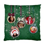 Christmas ornaments/grandchildren/friends-pillow cushion (2 sides) - Standard Cushion Case (Two Sides)