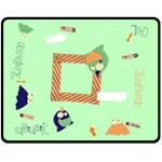 Monsters/boys- Fleece Blanket (M) - Fleece Blanket (Medium)