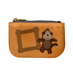 Cheecky Monkey Mini Coin Purse By Mikki   Mini Coin Purse   Vr9fyr522upr   Www Artscow Com Front