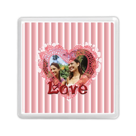 Love By Joely   Memory Card Reader (square)   2taefzw1ilha   Www Artscow Com Front