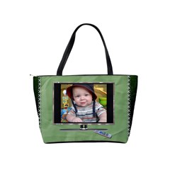 Tv Star Classic Shoulder Handbag By Lil    Classic Shoulder Handbag   Aehojlk761vc   Www Artscow Com Back