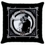 We Do Throw Pillow - Throw Pillow Case (Black)