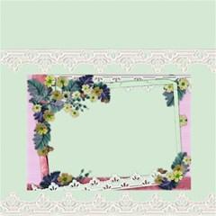 Lace And Flowers Box Storage Stool By Deborah   Storage Stool 12    Ymc2d8k0k790   Www Artscow Com Back