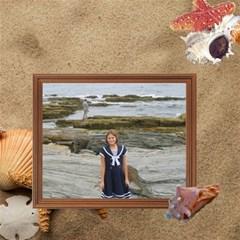 Beach Storage Box By Kim Blair   Storage Stool 12    Gkxud3x2vjdm   Www Artscow Com Front