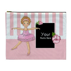 Ballerina Cosmetic Bag Xl By Lillyskite   Cosmetic Bag (xl)   Lh0kp9xd8fgw   Www Artscow Com Front