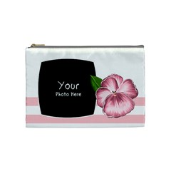 Ballerina Cosmetic Bag Medium By Lillyskite   Cosmetic Bag (medium)   Dlo1uit9s1sh   Www Artscow Com Front