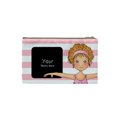 Ballerin Cosmetic Bag Sm By Lillyskite   Cosmetic Bag (small)   F313l7t1cby6   Www Artscow Com Back