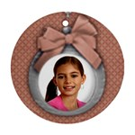 Christmas ornament/holiday-Ornament (Round, 1 side) - Ornament (Round)
