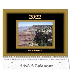 All Framed 2018 Large Number Calendar By Deborah   Wall Calendar 11  X 8 5  (12 Months)   L6etesf9fpkk   Www Artscow Com Cover