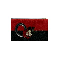 Wedding/blessings/holiday Cosmetic Bag (s)  By Mikki   Cosmetic Bag (small)   Qcnl9vegogpq   Www Artscow Com Back