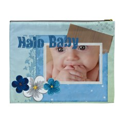 Halo Baby By Joely   Cosmetic Bag (xl)   V9zqzh7d9bsu   Www Artscow Com Back