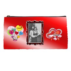 Red Pencil Case By Kimmy   Pencil Case   Ubuzurignf30   Www Artscow Com Front