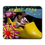 at the park mousepad - Large Mousepad