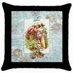 French 18th Century Romantic Couple Pillow Cover