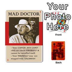 Indiana Jones Fireball Card Set 02 By German R  Gomez   Playing Cards 54 Designs   A75s73sj4lad   Www Artscow Com Front - Joker1