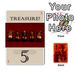 Queen Indiana Jones Fireball Card Set 03 By German R  Gomez   Playing Cards 54 Designs   W9t1xzn1ra8s   Www Artscow Com Front - SpadeQ