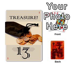 Indiana Jones Fireball Card Set 03 By German R  Gomez   Playing Cards 54 Designs   W9t1xzn1ra8s   Www Artscow Com Front - Spade5