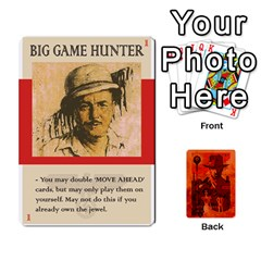 Indiana Jones Fireball Card Set 03 By German R  Gomez   Playing Cards 54 Designs   W9t1xzn1ra8s   Www Artscow Com Front - Club6