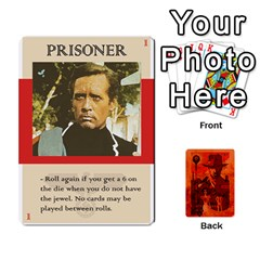 Indiana Jones Fireball Card Set 03 By German R  Gomez   Playing Cards 54 Designs   W9t1xzn1ra8s   Www Artscow Com Front - Club9