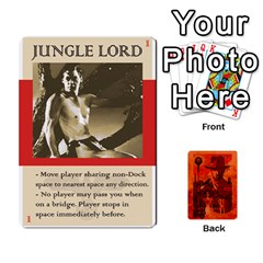 King Indiana Jones Fireball Card Set 03 By German R  Gomez   Playing Cards 54 Designs   W9t1xzn1ra8s   Www Artscow Com Front - ClubK