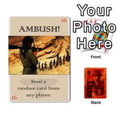 Jack Indiana Jones Fireball Card Set 04 By German R  Gomez   Playing Cards 54 Designs   32z5rhtvoi0d   Www Artscow Com Front - DiamondJ