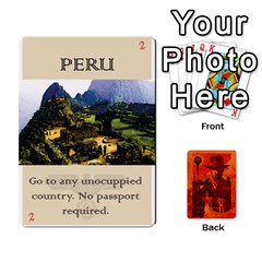 Indiana Jones Fireball Card Set 04 By German R  Gomez   Playing Cards 54 Designs   32z5rhtvoi0d   Www Artscow Com Front - Spade9