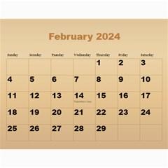 Male Calendar 2017 (large Numbers) By Deborah   Wall Calendar 11  X 8 5  (12 Months)   Cicfiojs6ete   Www Artscow Com Feb 2017
