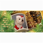 Merry Christmas 4x8 Photo Card no1 - 4  x 8  Photo Cards