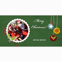 4  X 8  Photo Cards: Merry Christmas By Jennyl   4  X 8  Photo Cards   Oj3nrqda6m0n   Www Artscow Com 8 x4 Photo Card - 1