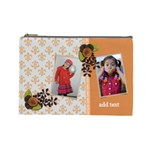 Cosmetic Bag (Large) - Orange Surprise