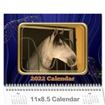 Showcase 2018 (any year) Calendar - Wall Calendar 11  x 8.5  (12-Months)